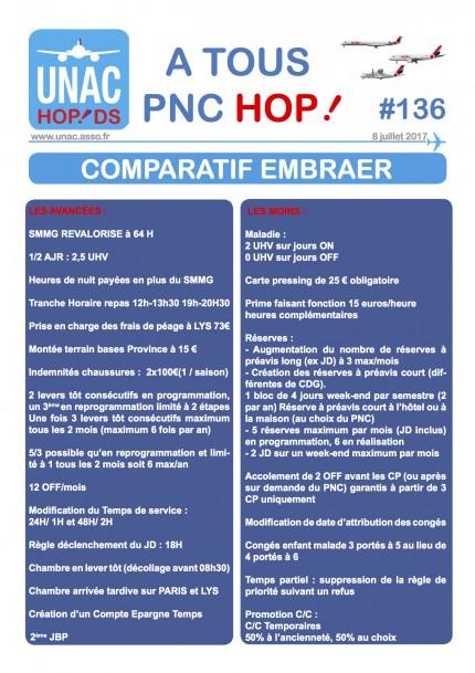 comparatif EMB